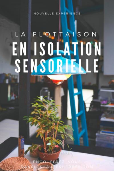 flottaison isolation sensorielle thème astral