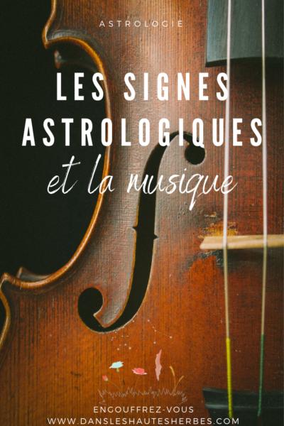 ASTROLOGIE SIGNES ASTROLOGIQUES MUSIQUE