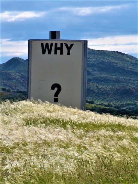 Pourquoi question réponse
