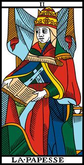 papesse tarot astrologie