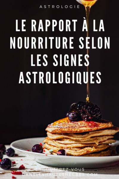 Nourriture Signes Astrologiques