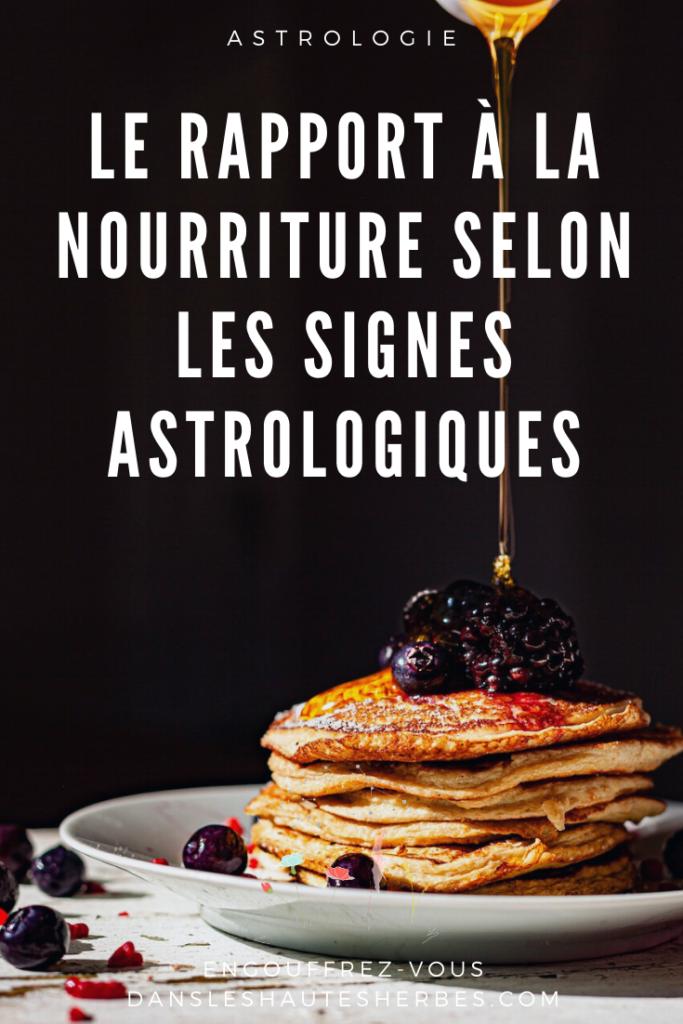 Food Nourriture Signes Astro